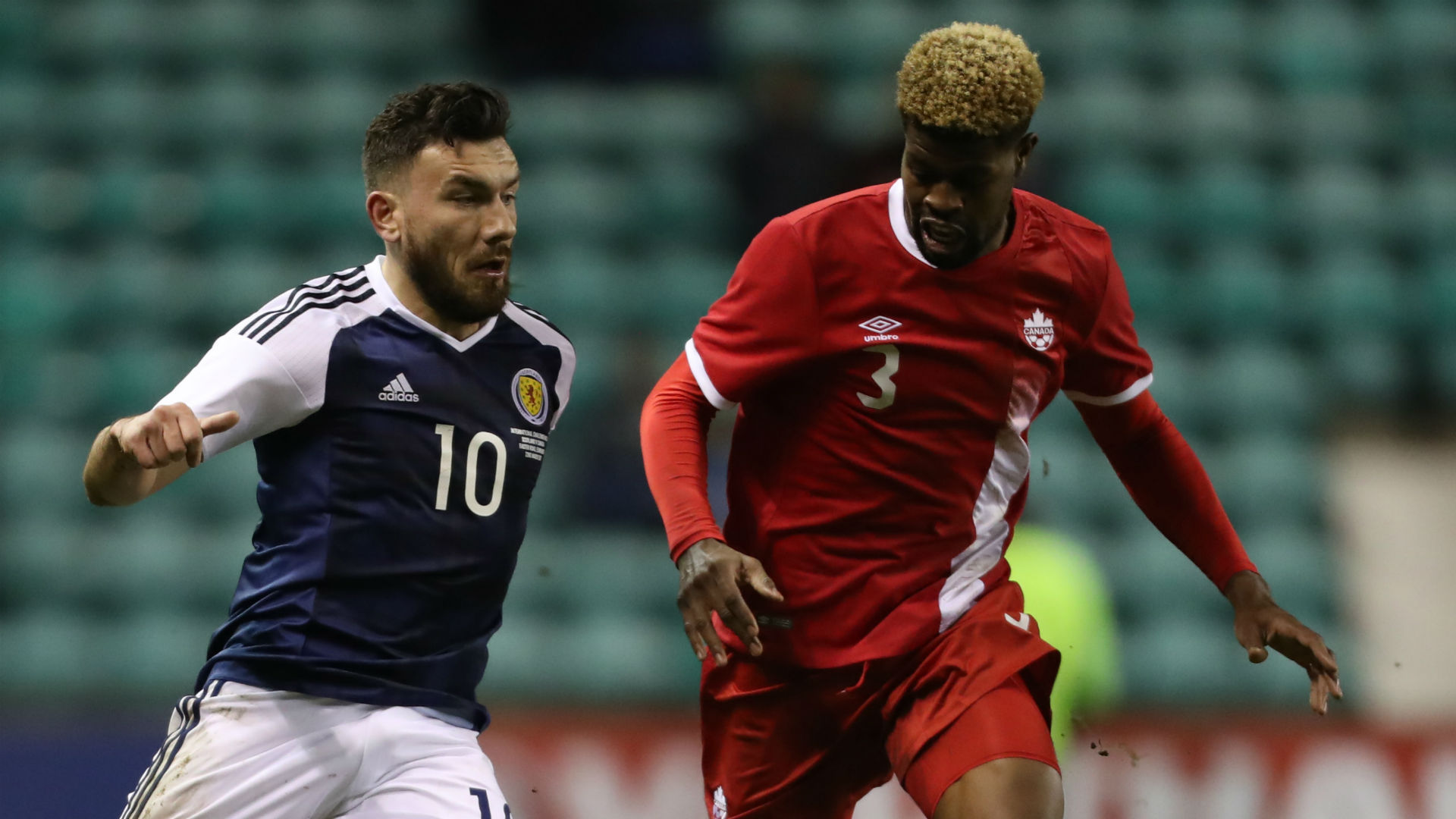 Robert Snodgrass Manjrekar James Scotland Canada Friendly 032217