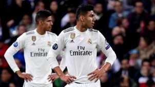 Casemiro Raphael Varane Real Madrid Ajax UCL 05032019