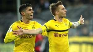 Borussia Dortmund Marco Reus Pulisic 31102018