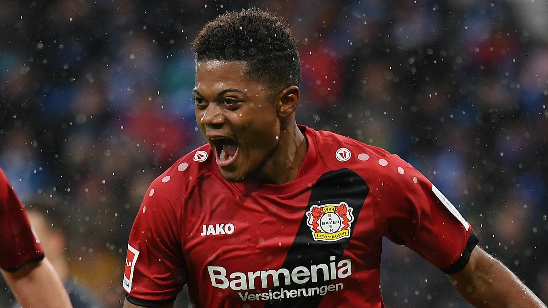 Leon Bailey Bayer Leverkusen 2017-18