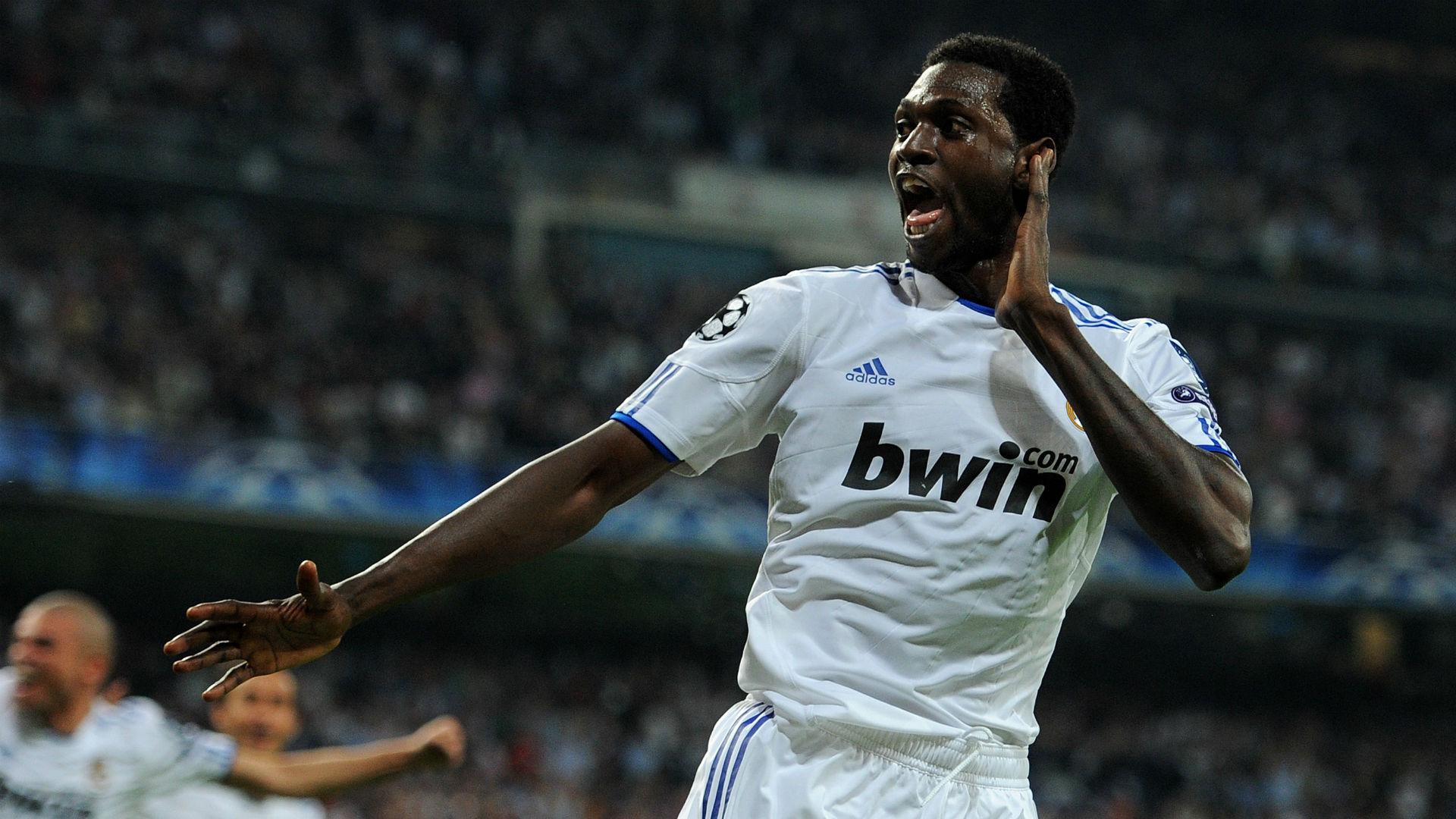 Emmanuel Adebayor Real Madrid