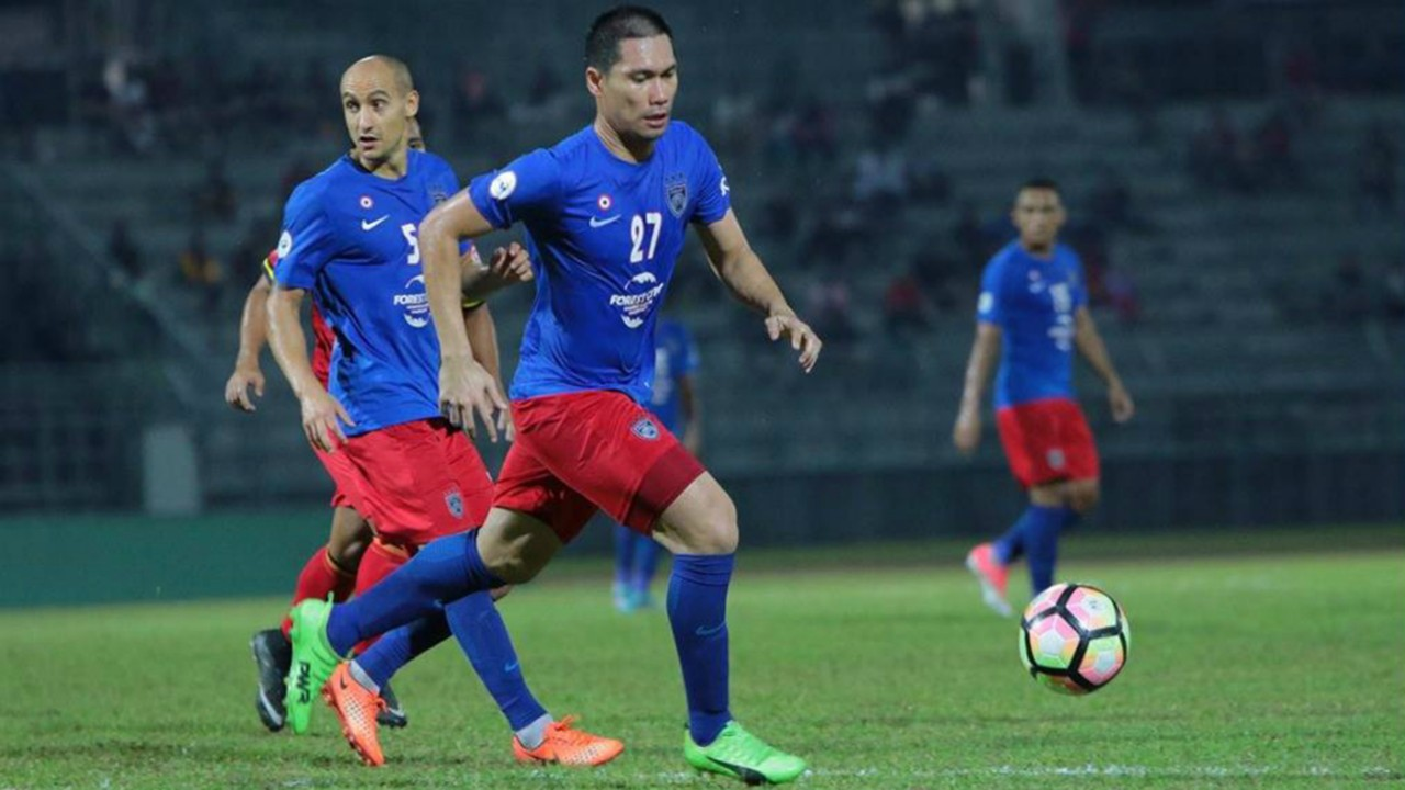 Fadhli Shas WATCH JDTs Fadhli on improved form and Super League title Goalcom