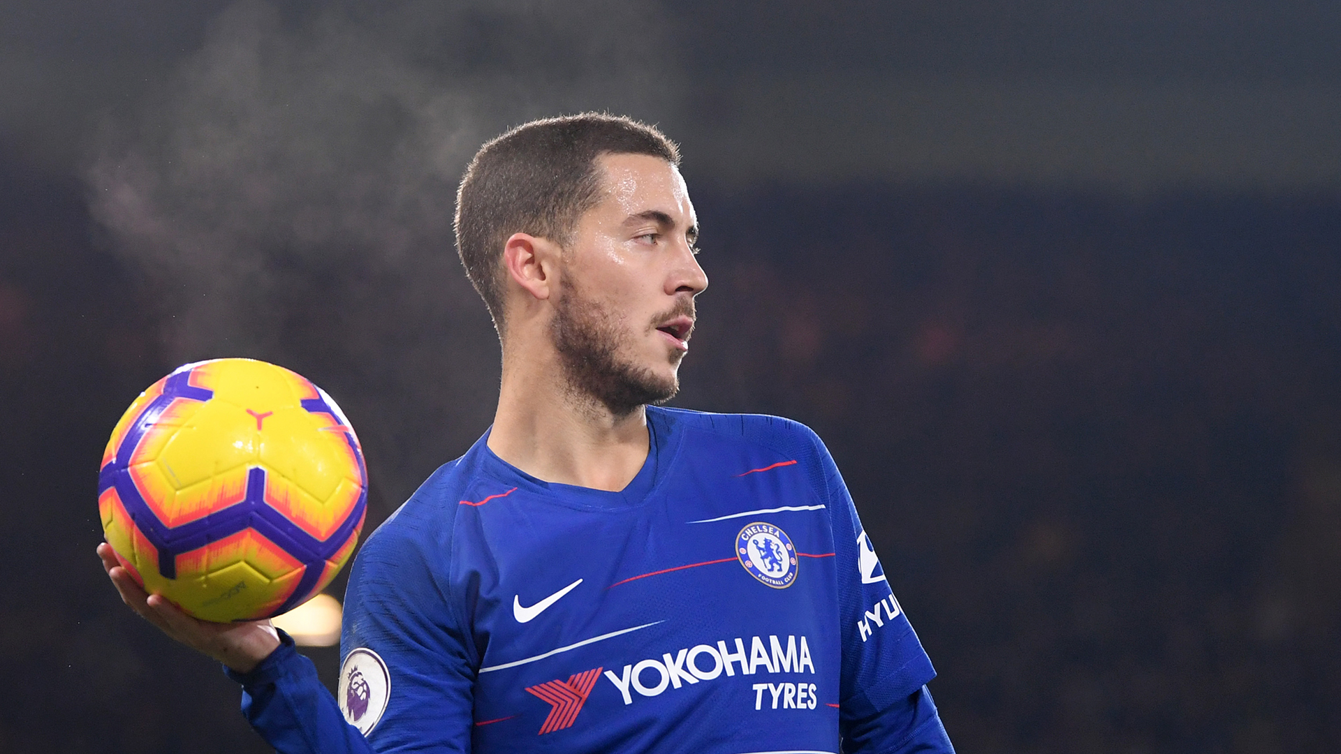 Eden Hazard Chelsea Wolves