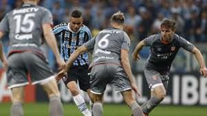Luan Jonathan Schunke Gremio Estudiantes Copa Libertadores 28082018