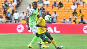 Image result for nigeria beat south africa 2-1 in afcon 2019 quater final match