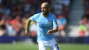 David Silva, Bournemouth v Man City