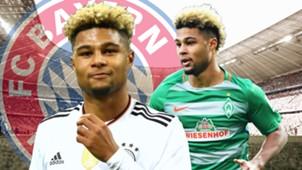 GFX Serge Gnabry FC Bayern 11062017