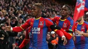 Crystal Palace Wan-Bissaka Wilfried Zaha