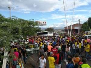 Locura por la Selección Colombia en la Frontera