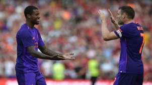 Wijnaldum Milner Liverpool-Napoli