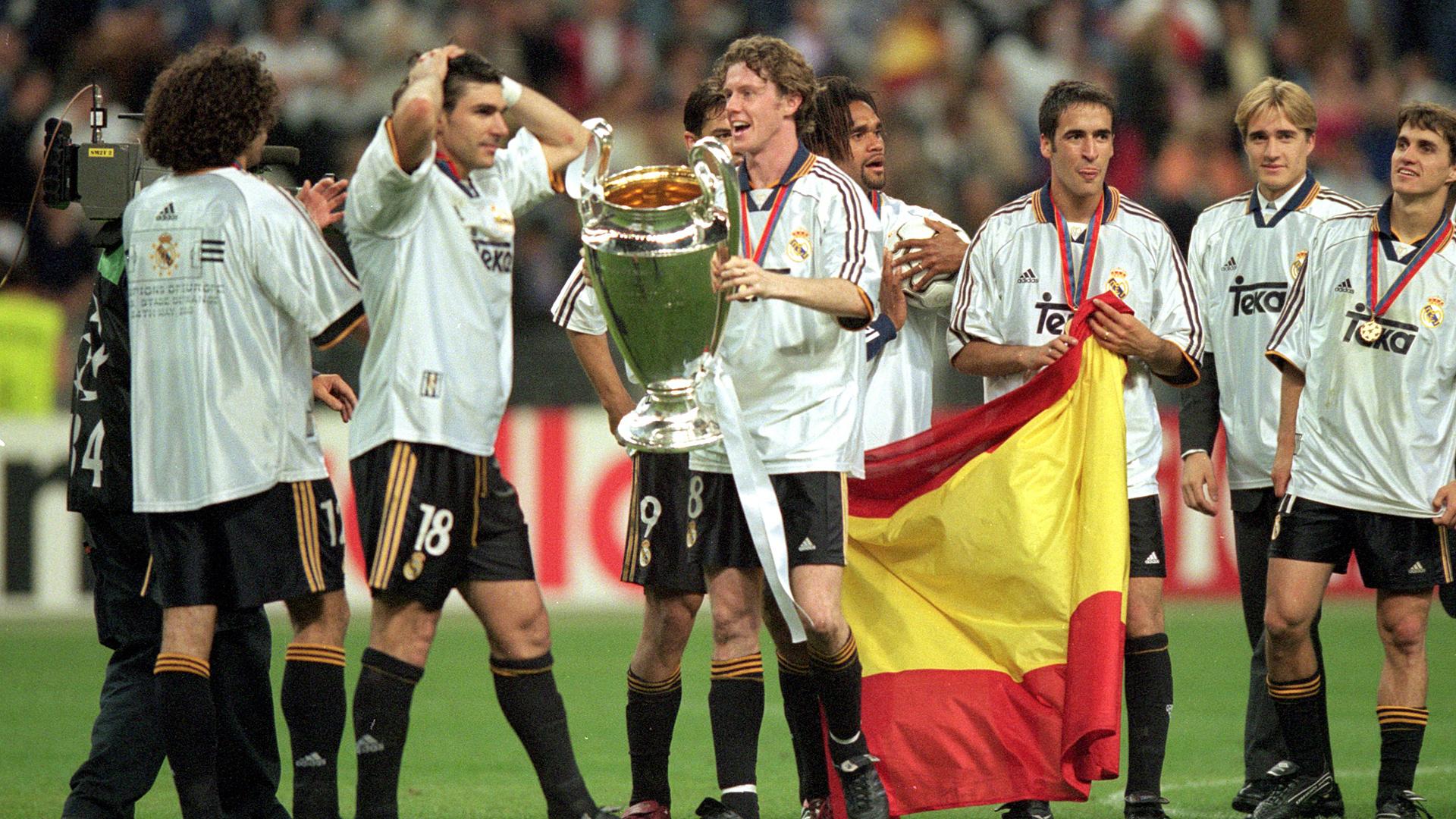 Steve McManaman Real Madrid FC Valencia
