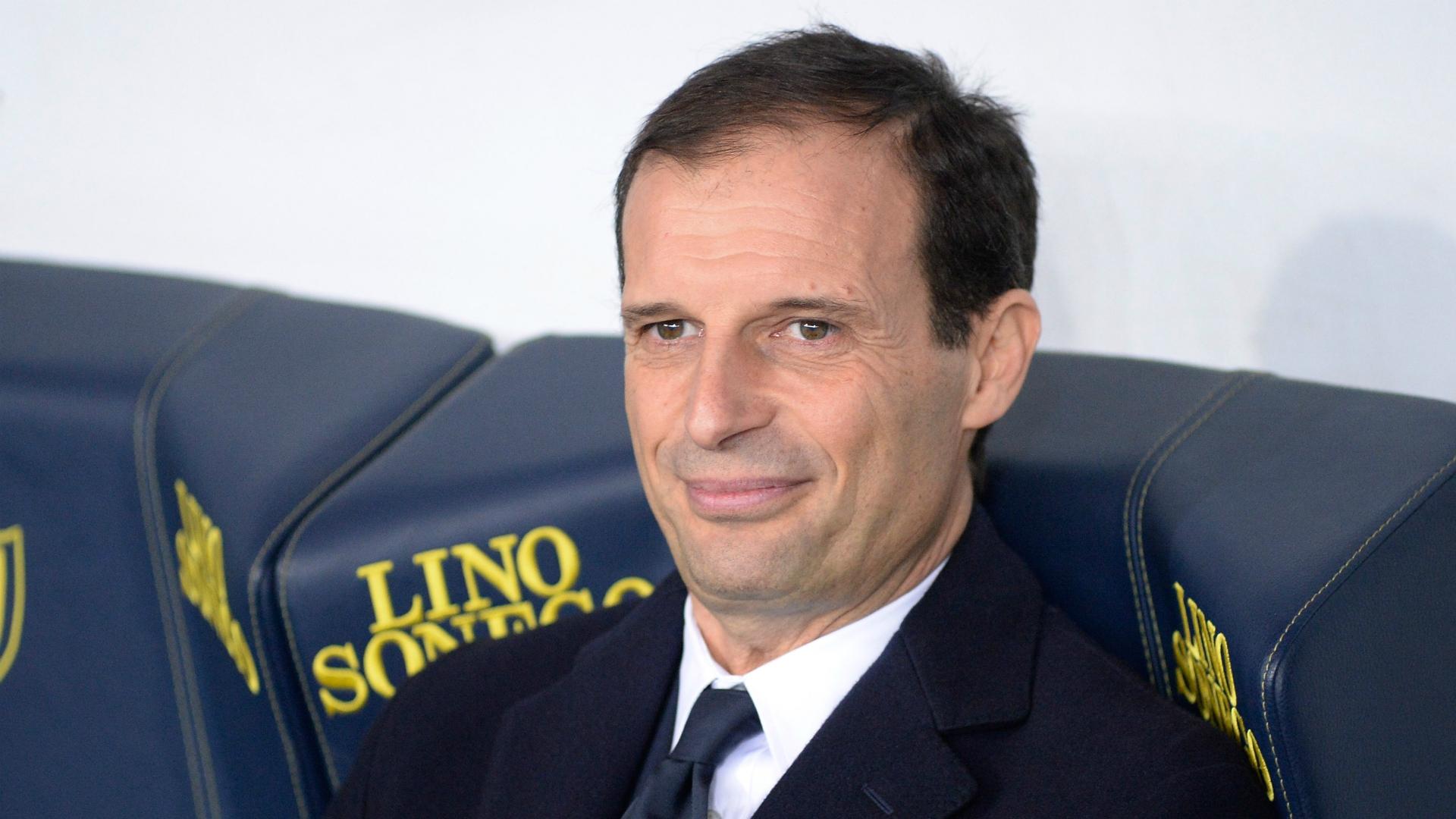 Massimiliano Allegri Chievo Juventus Serie A 01272018