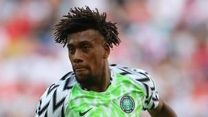 Alex Iwobi Nigeria 2018
