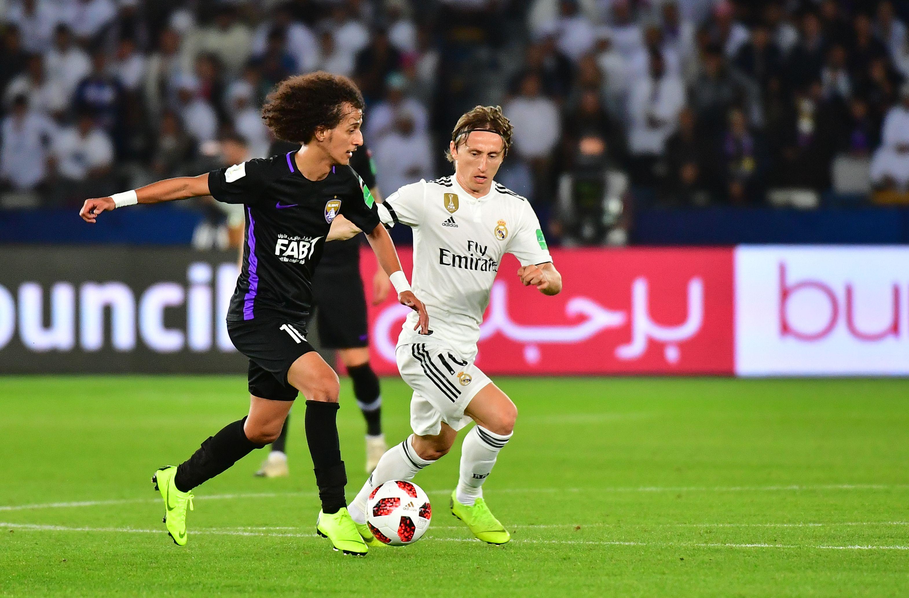 Mohamed Abdulrahman & Luka Modrić - Al Ain v Real Madrid