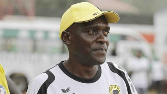 Tusker coach George Nzimbe.