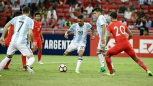 Manuel Lanzini  Argentina Singapur 13062017