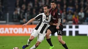Miralem Pjanic Josè Sosa Juventus Milan Serie A