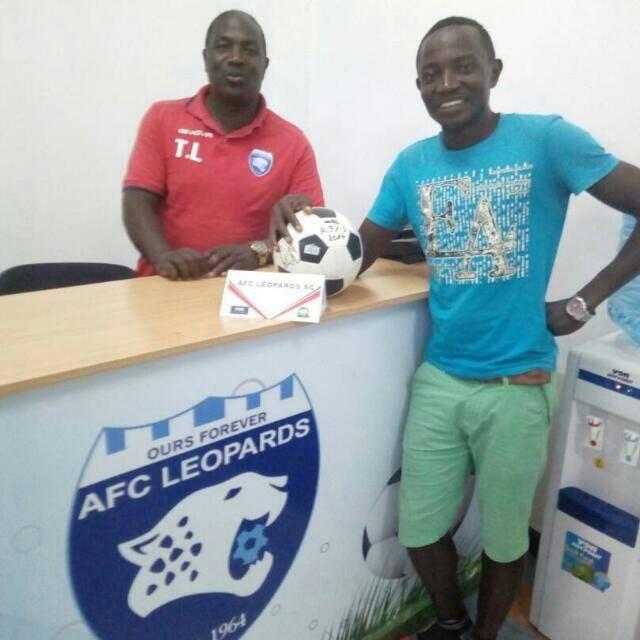 Burundian striker for AFC Leopards