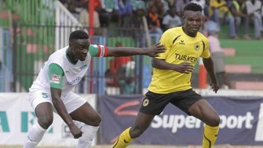 Gor Mahia captain Musa Mohammed was solid at the back denying Tusker winger Noah Wafula on many occasions