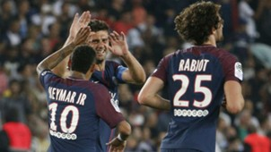 Neymar Motta Rabiot PSG Saint-Etienne Ligue 1 25 08 2017