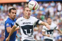 Abraham González Adrián Aldrete Pumas Cruz Azul 201117