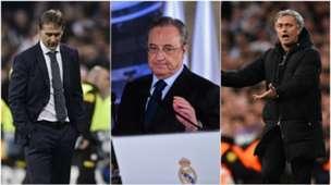 GFX Collage Real Madrid Perez Lopetegui Mourinho