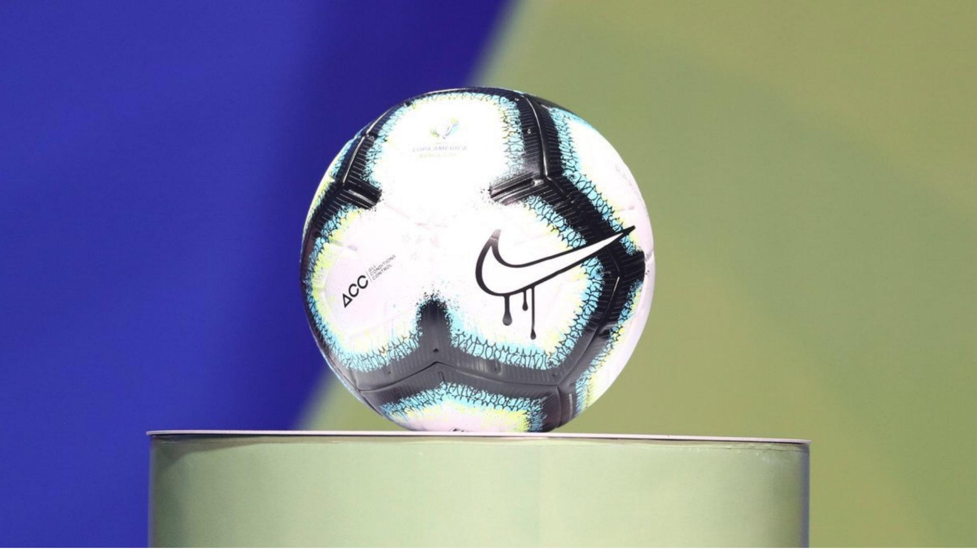 Rabisco balón Copa América 240119