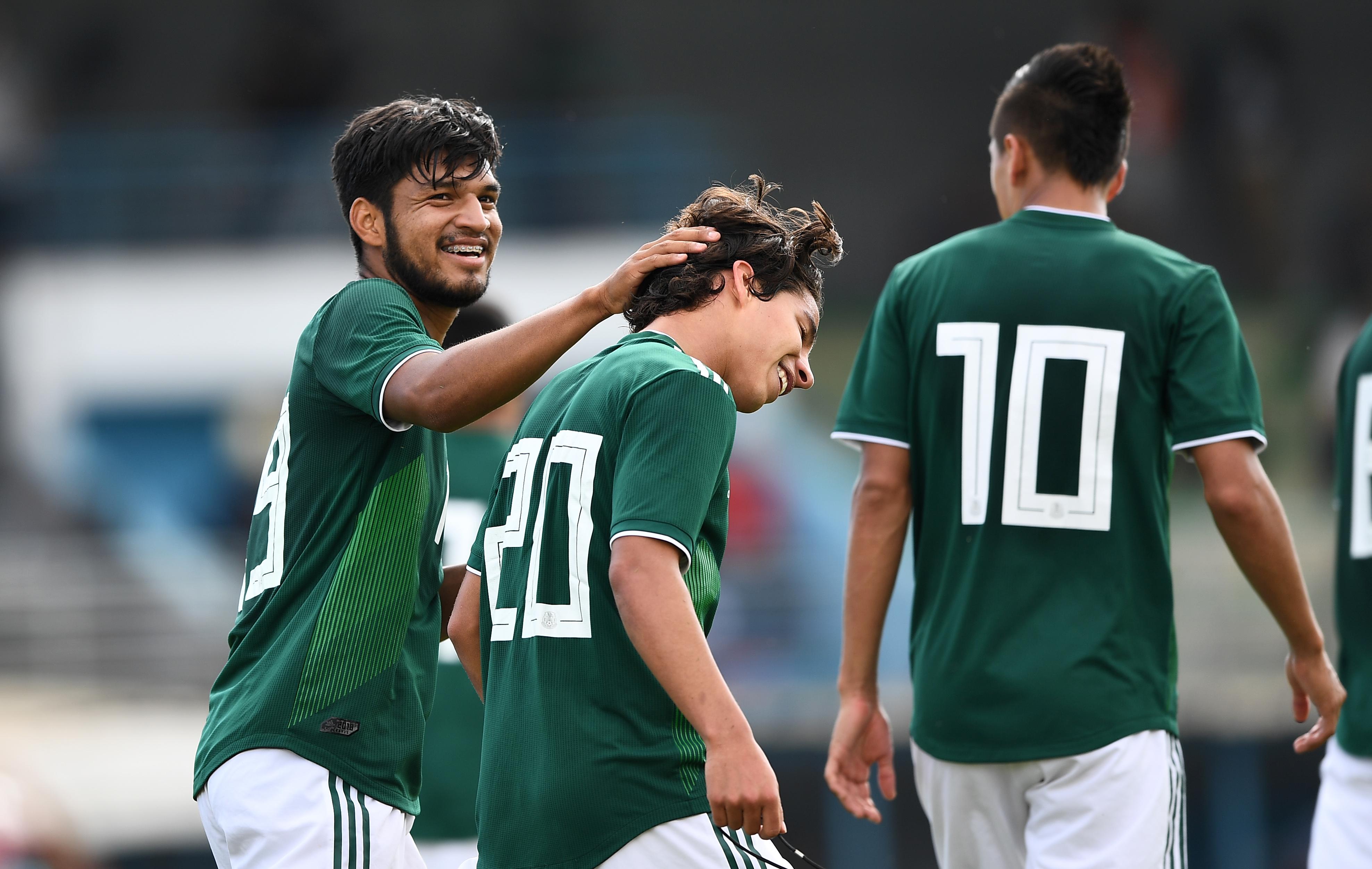 Selección Mexicana Toulon 2018