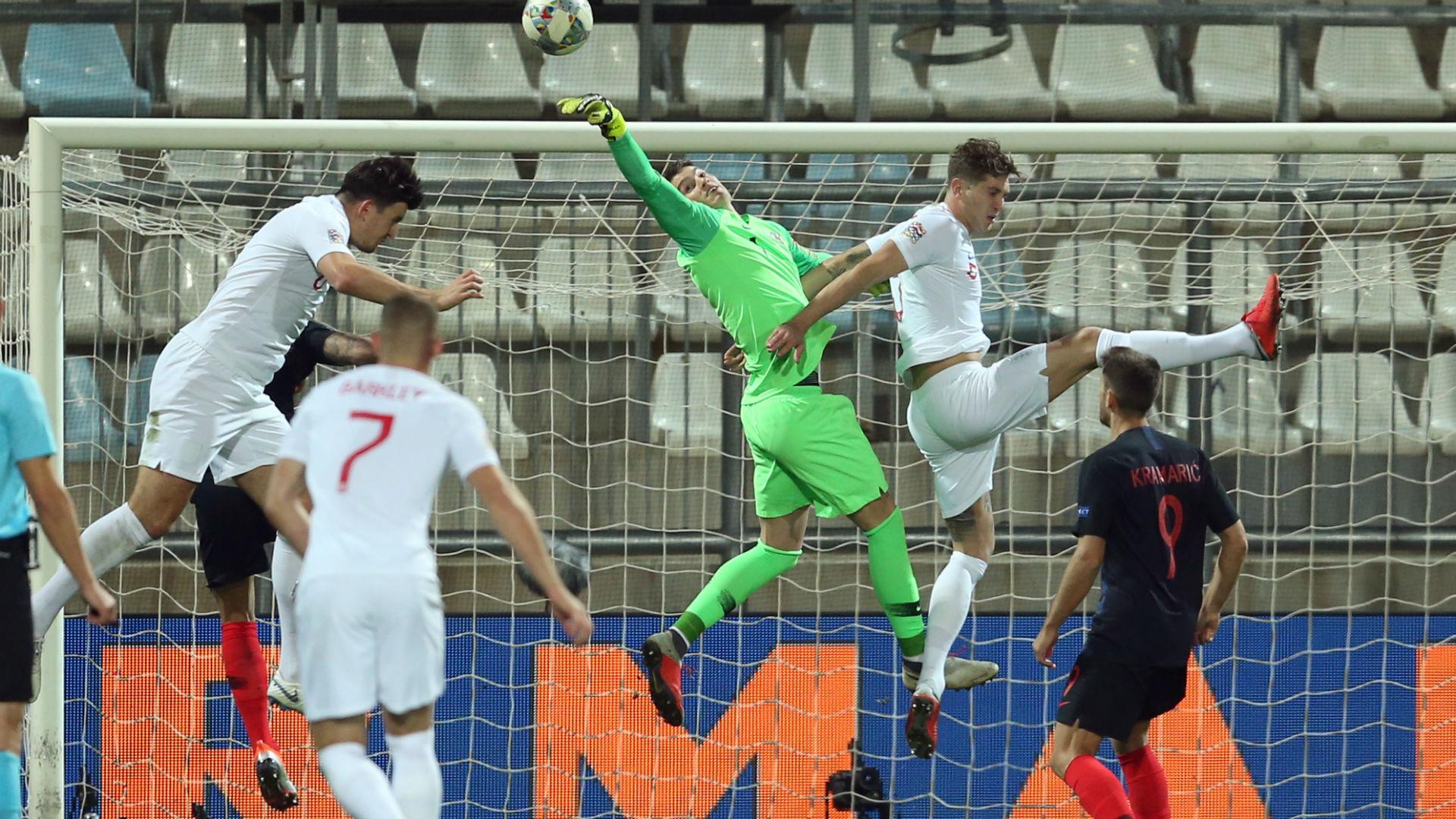 croatia england - dominik livakovic - nations league - 12102018