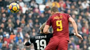 Dzeko Udinese Roma