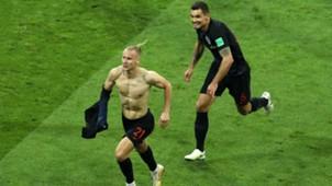 russia croatia - domagoj vida dejan lovren - world cup - 07072018