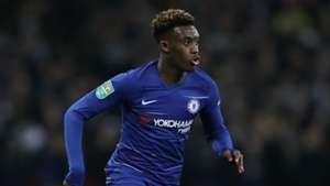Callum Hudson-Odoi Chelsea Tottenham Carabao Cup 2018