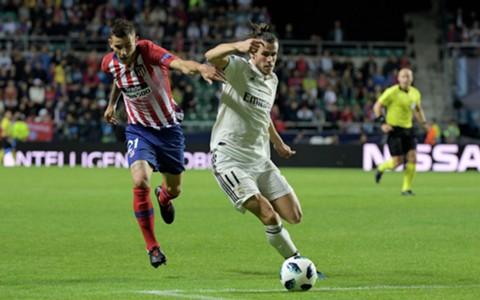 Lucas Hernandez Gareth Bale Real Madrid Atletico Madrid 15082018