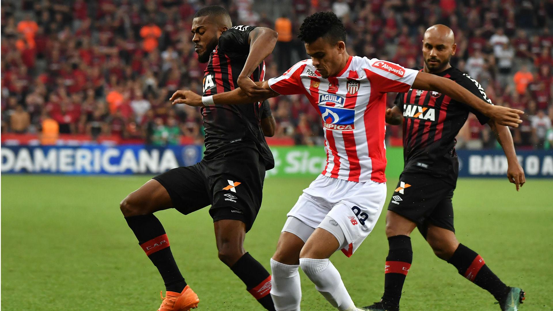 At. Paranaense - Junior Copa Sudamericana 12122018