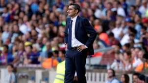 Ernesto Valverde Barcelona Athletic LaLiga 29092018