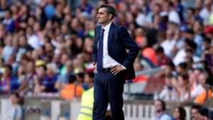 Ernesto Valverde Barcelona Athletic LaLiga 29092018