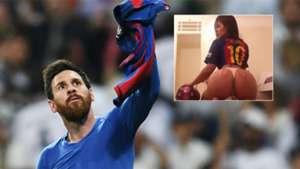Messi Miss Bum Bum 500 goles 23042017