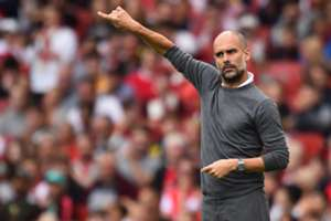 Pep Guardiola Arsenal Manchester City