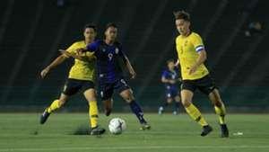 Dominic Tan, Cambodia v Malaysia, AFF U22 Championship, 18 Feb 2019