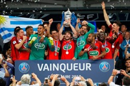 Angers PSG Maxwell Coupe de France