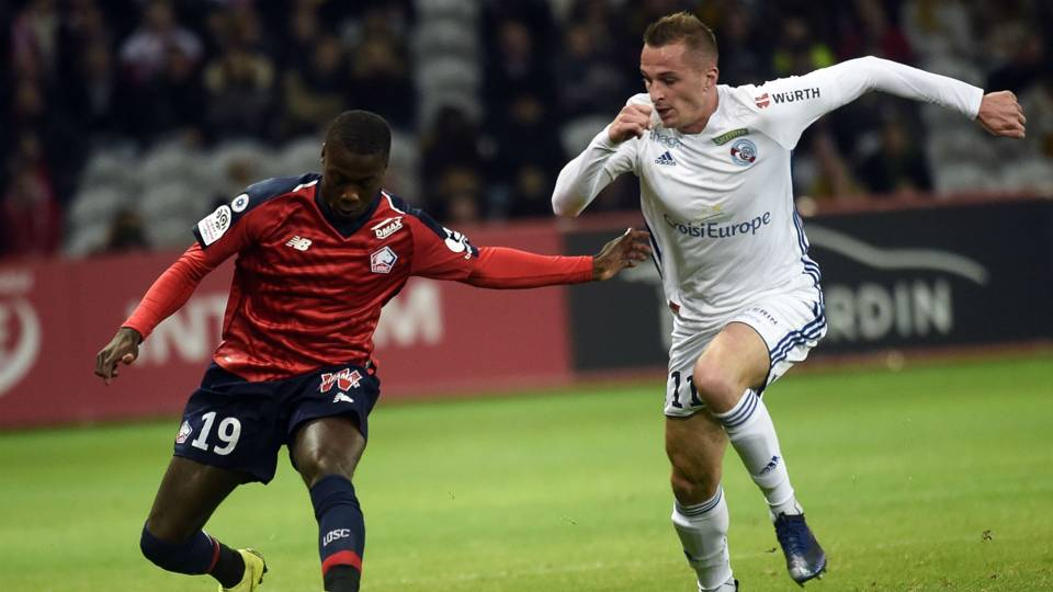 Arsenal and Bayern Munich target Nicolas Pepe fires blank in Lille stalemate