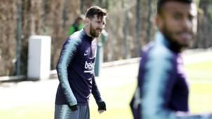 Messi barcelona entrenamiento