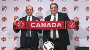 Don Garber Victor Montagliani MLS Canada 20161130