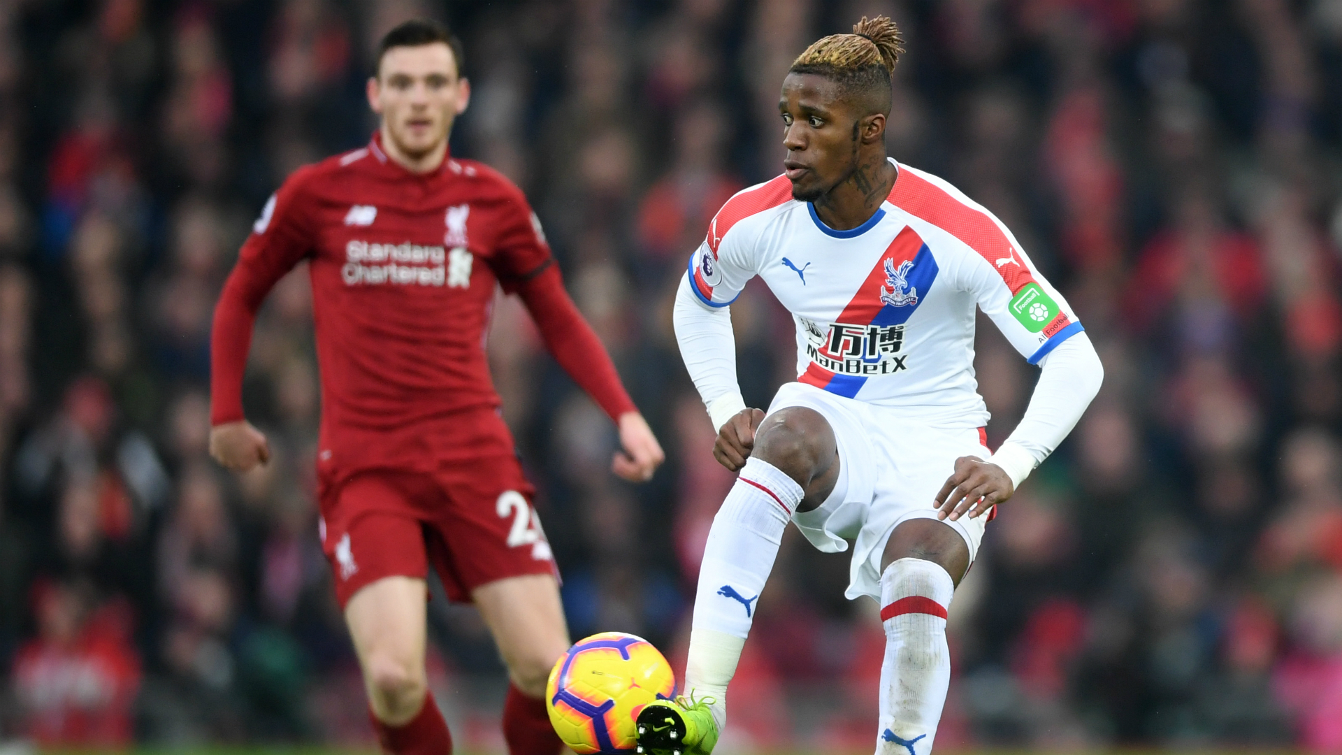 Wilfried Zaha - Liverpool vs. Crystal Palace