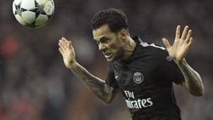 Dani Alves Real Madrid PSG Champions League 14022018