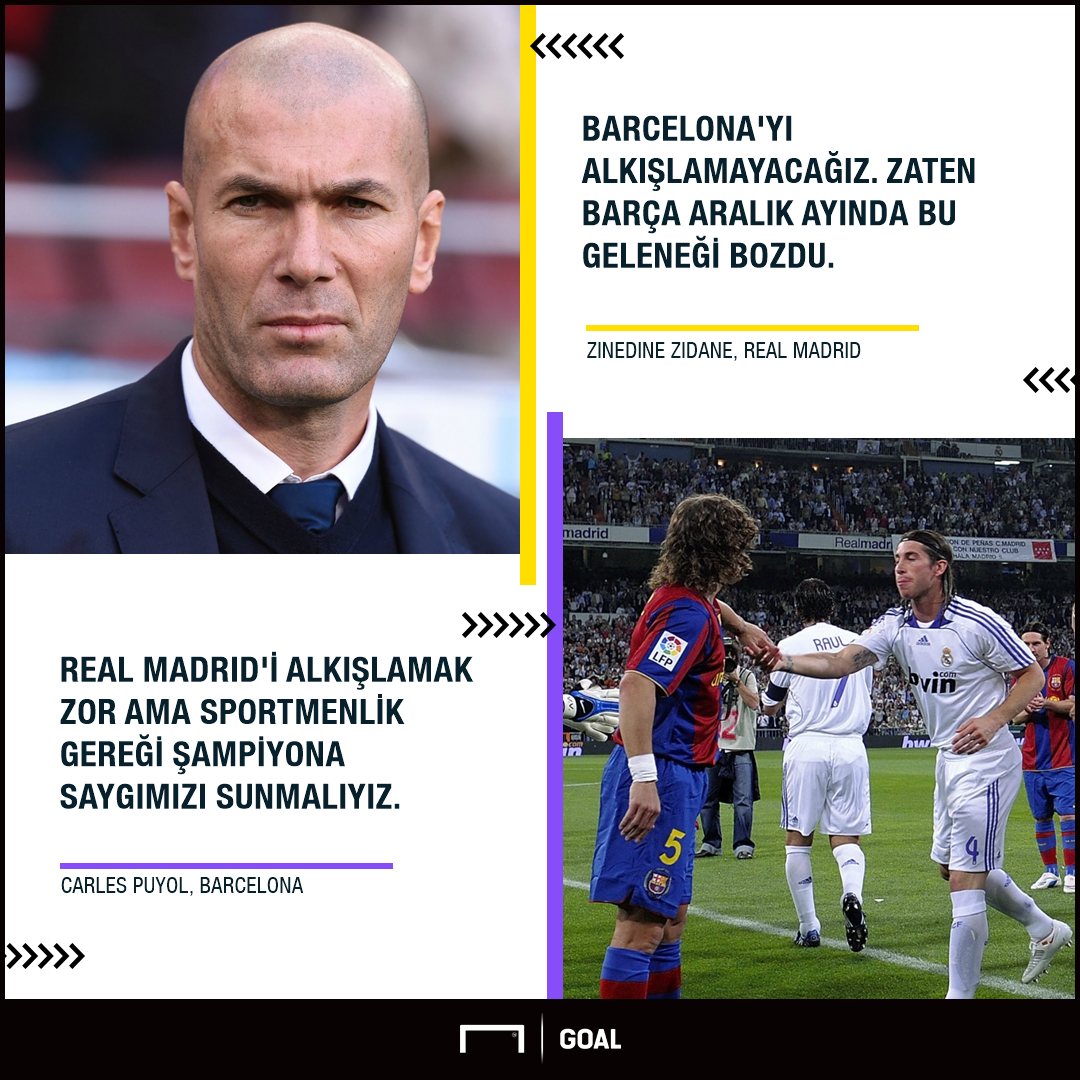 TURKISH Real Madrid Barcelona pasillo