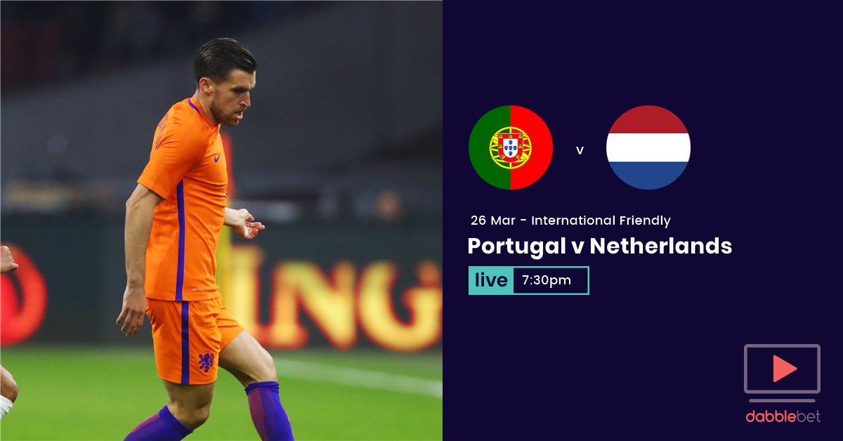 Portugal Netherlands graphic