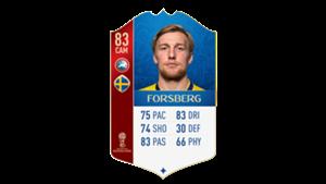 FIFA 18 UEFA World Cup Ratings Forsberg