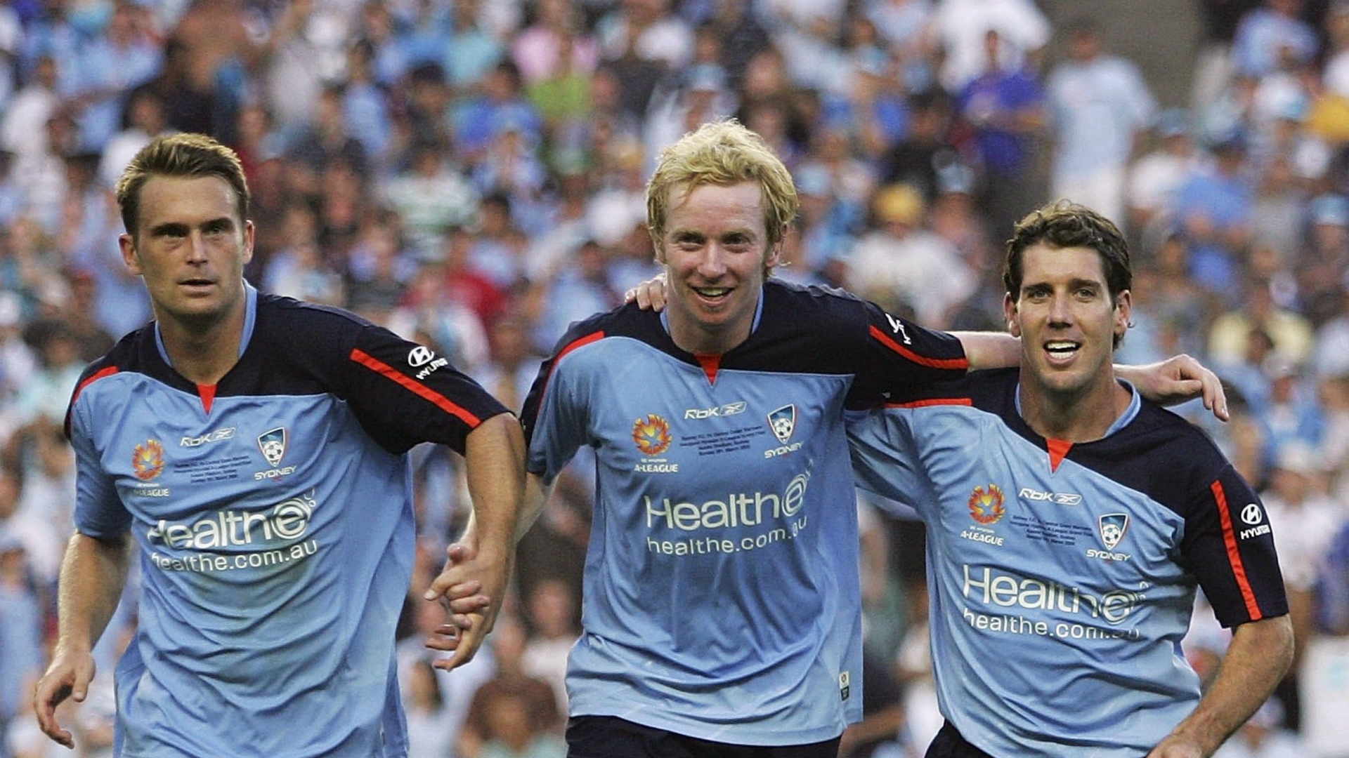 Andrew Packer David Carney Robbie Middleby Sydney FC v Central Coast Mariners A-League 05032006