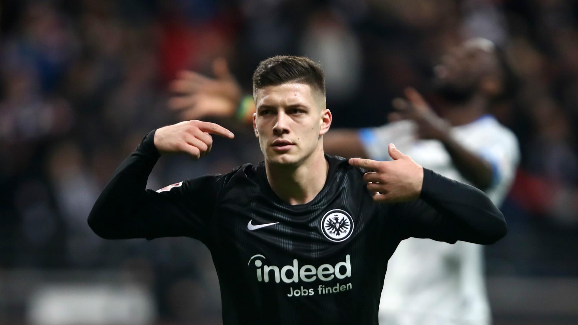 Luka Jovic Eintracht Frankfurt Schalke 04 11112018